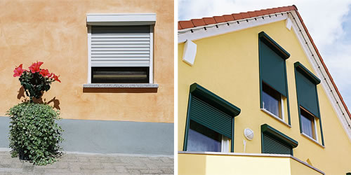 Superb Exterior Roller Shutters Collection